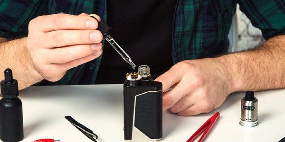 La composition d'un e-liquide pour cigarette électronique ?