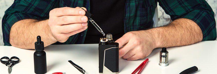 composition d'un e-liquide